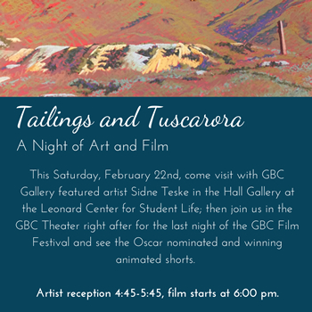 tailings Art Show graphic.