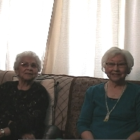 Edith and Adele Fisk photo
