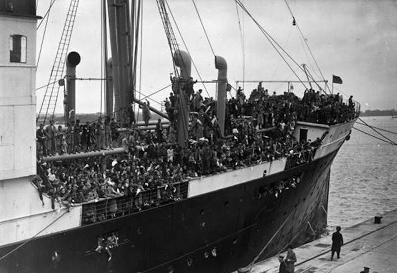 Refugee ship SS Habana, 1937