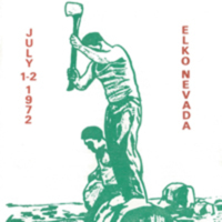 1972 Elko National Basque Festival Program