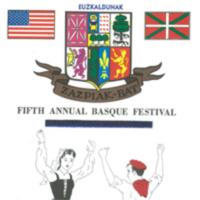 1968 Elko National Basque Program Festival