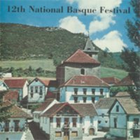 1975 Elko National Basque Festival Program