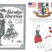 1965 Elko National Basque Festival Program