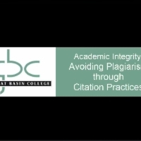 Academic Integrity: Avoiding Plagiarism through Citation Practices