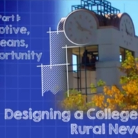 "Title card from ""Designing a College for Rural Nevada, part 1: Motive, Means, Opportunity"""