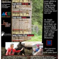2014 Cowboy Poetry Speakers Poster