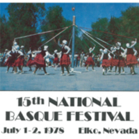 1978 Elko National Basque Festival Program