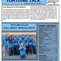 Tortoise Talk, May 2014 (vol. 1, no. 1)