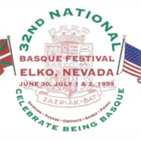 1995 Elko National Basque Festival Program