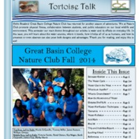Tortoise Talk, Fall 2014 (vol. 2, no. 1)