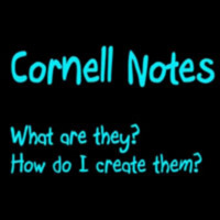 Video Still - Creating Cornell Notes (S. Clowes)