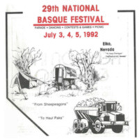 1992 Elko National Basque Festival Program